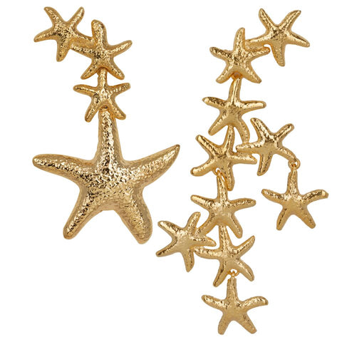 Serina Earrings Gold