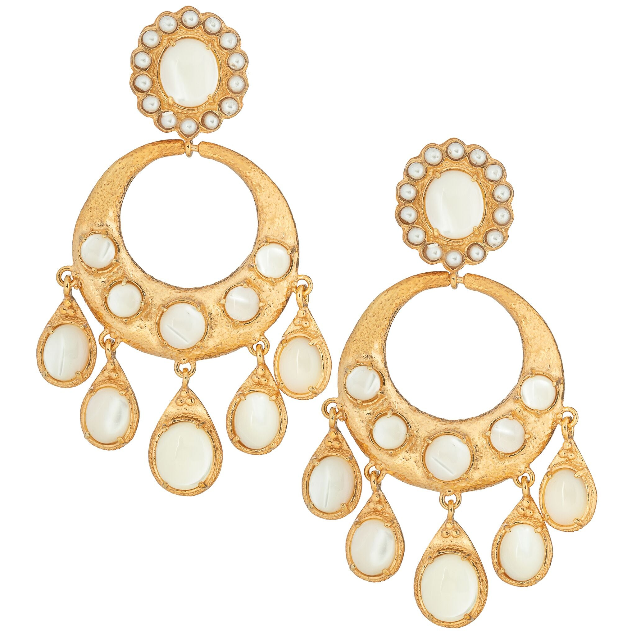 Senorita Earrings Pearl