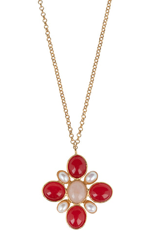 Miranda Necklace Red