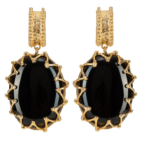 Lola Earrings Black