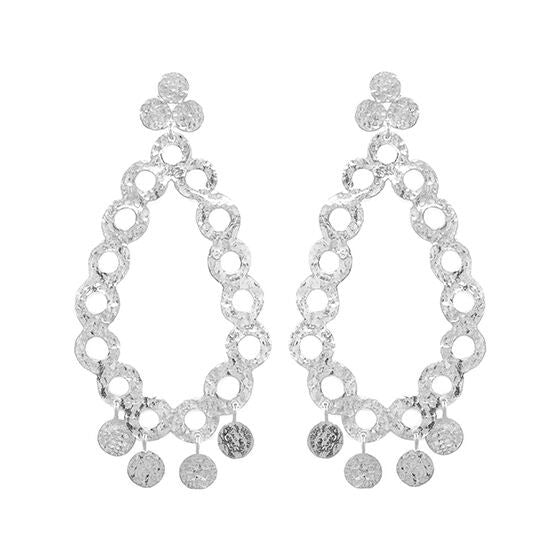 Aria Earrings Silver