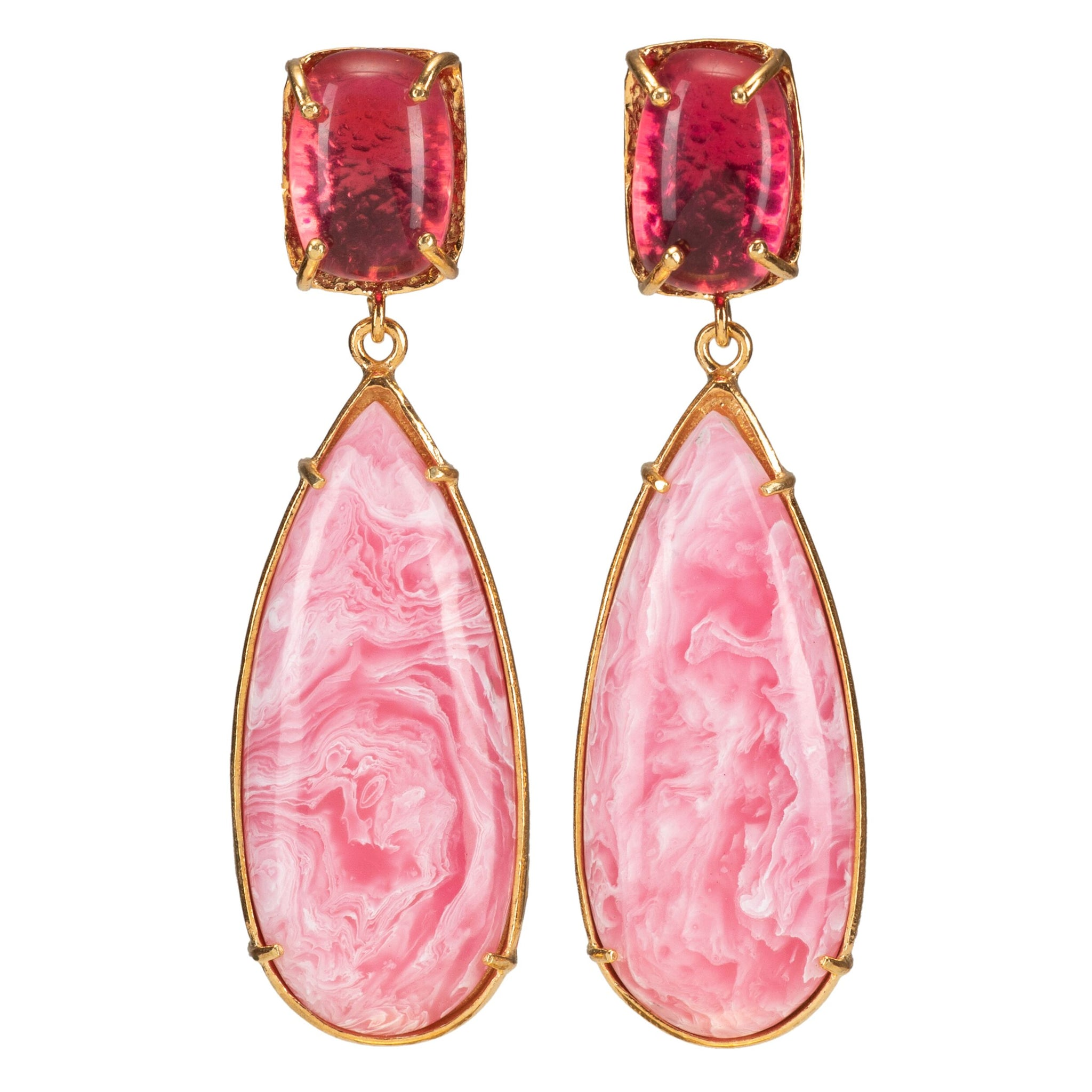 Franca Earrings Pink