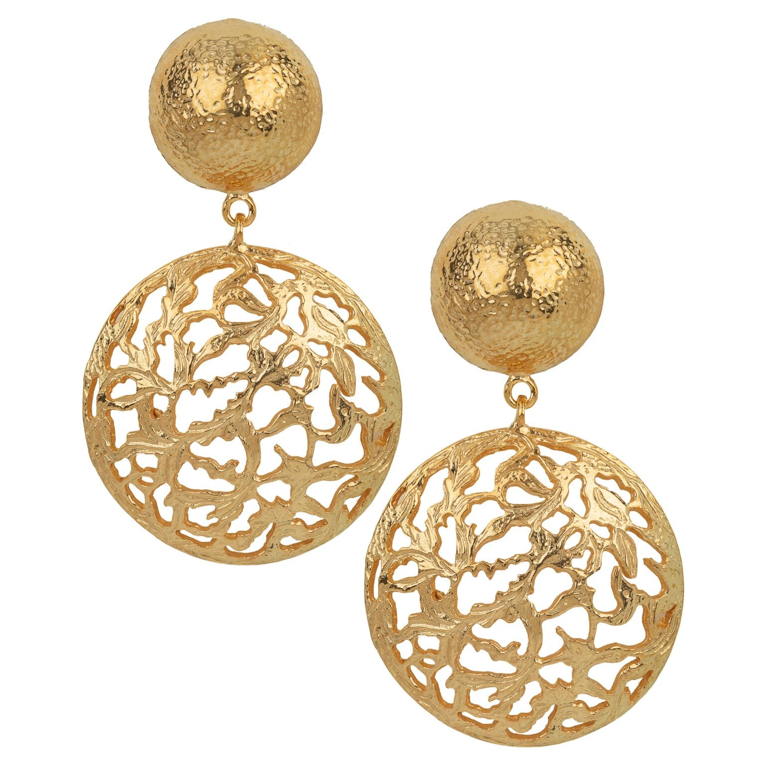 Lila Earrings Gold