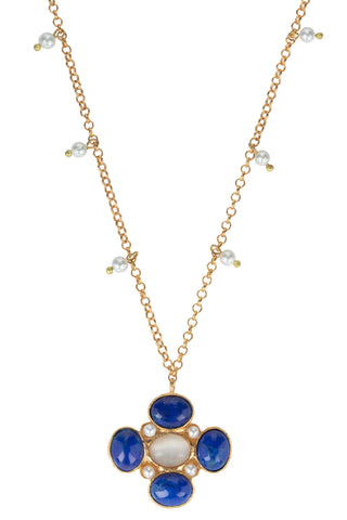 Mia Necklace Blue
