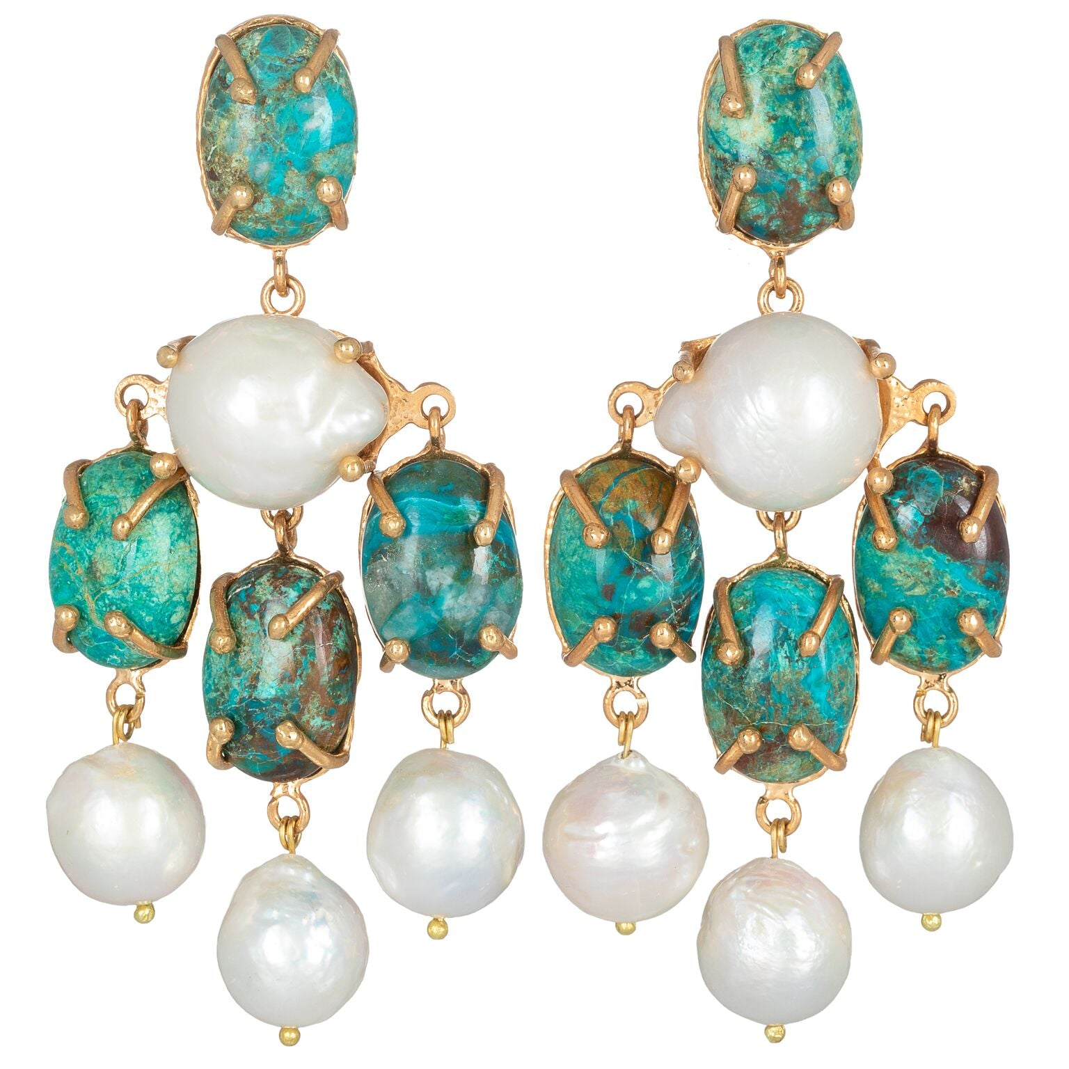 Vittoria Earrings Turquoise