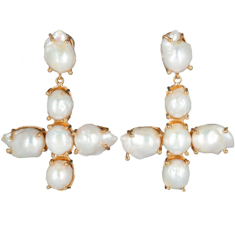 Violante Earrings Pearls