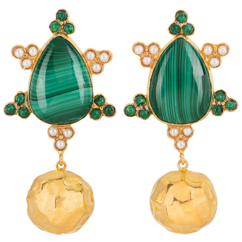 Torres Earrings Green