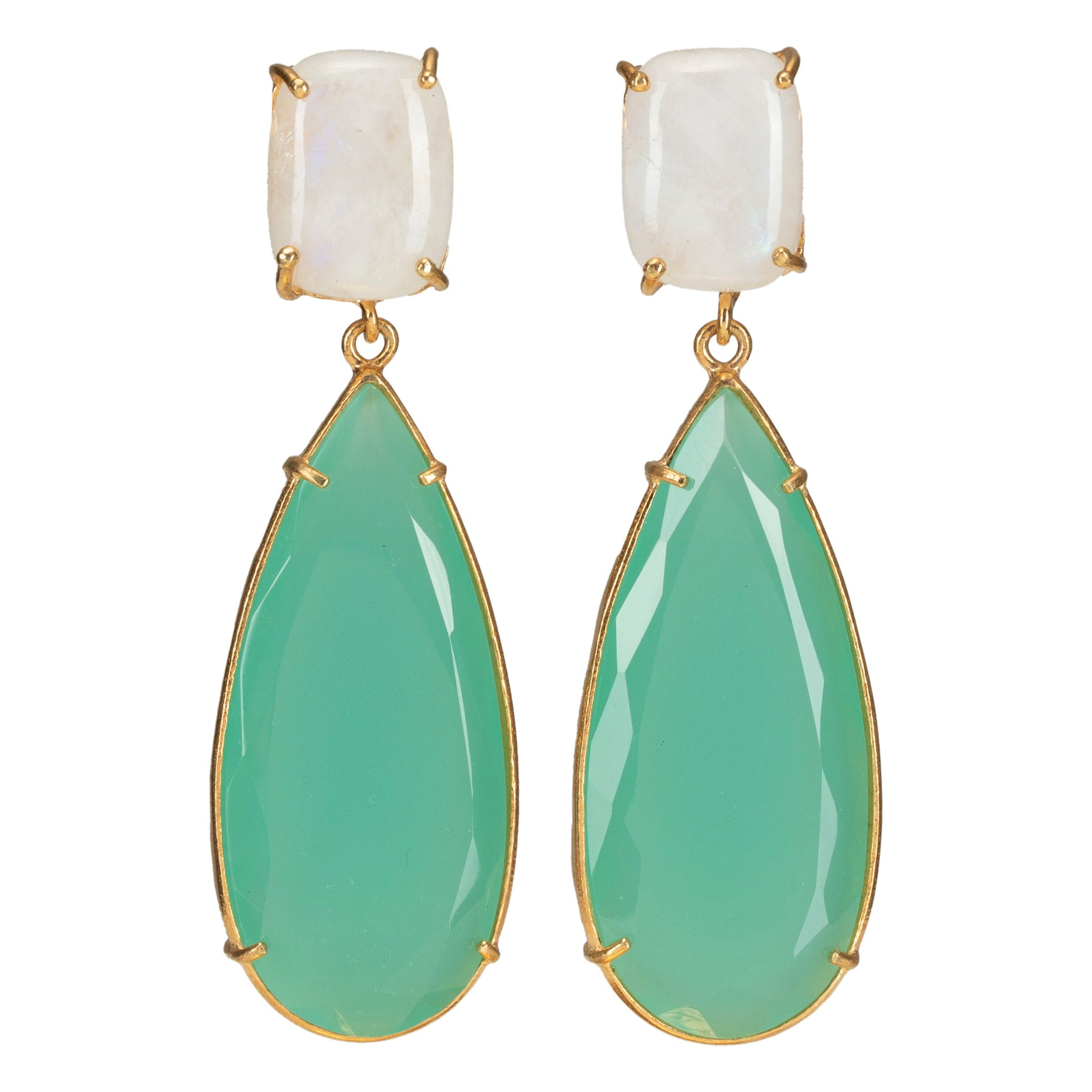 Franca Earrings Mint