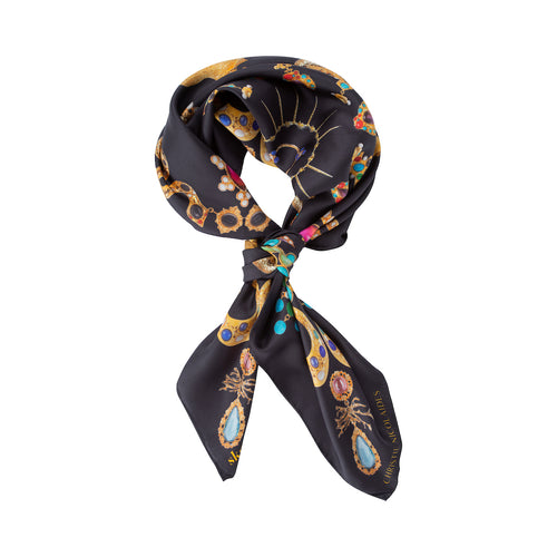 Monroe Scarf Black & Multi