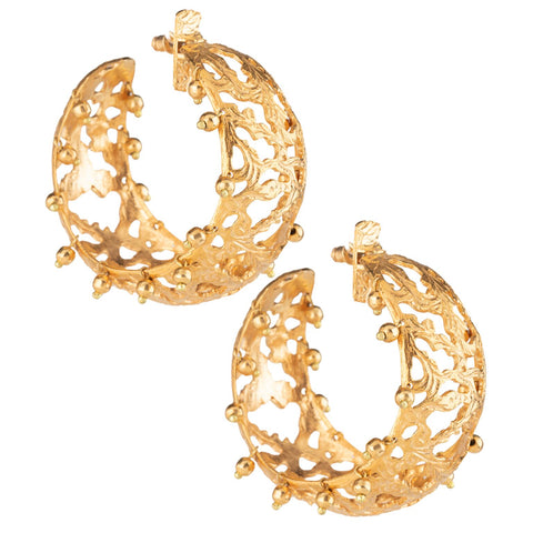 Calas Hoops Gold