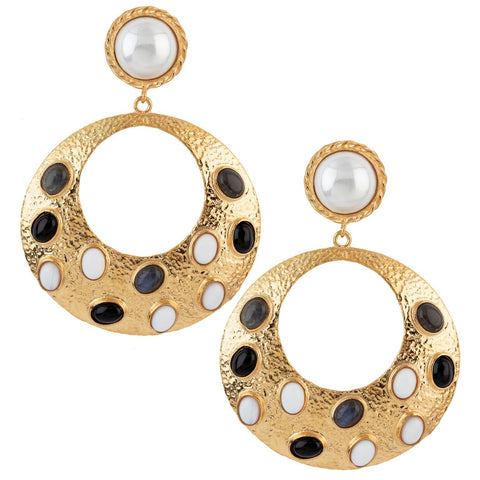 Salsa Earrings Black