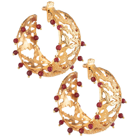 Calas Hoops Red