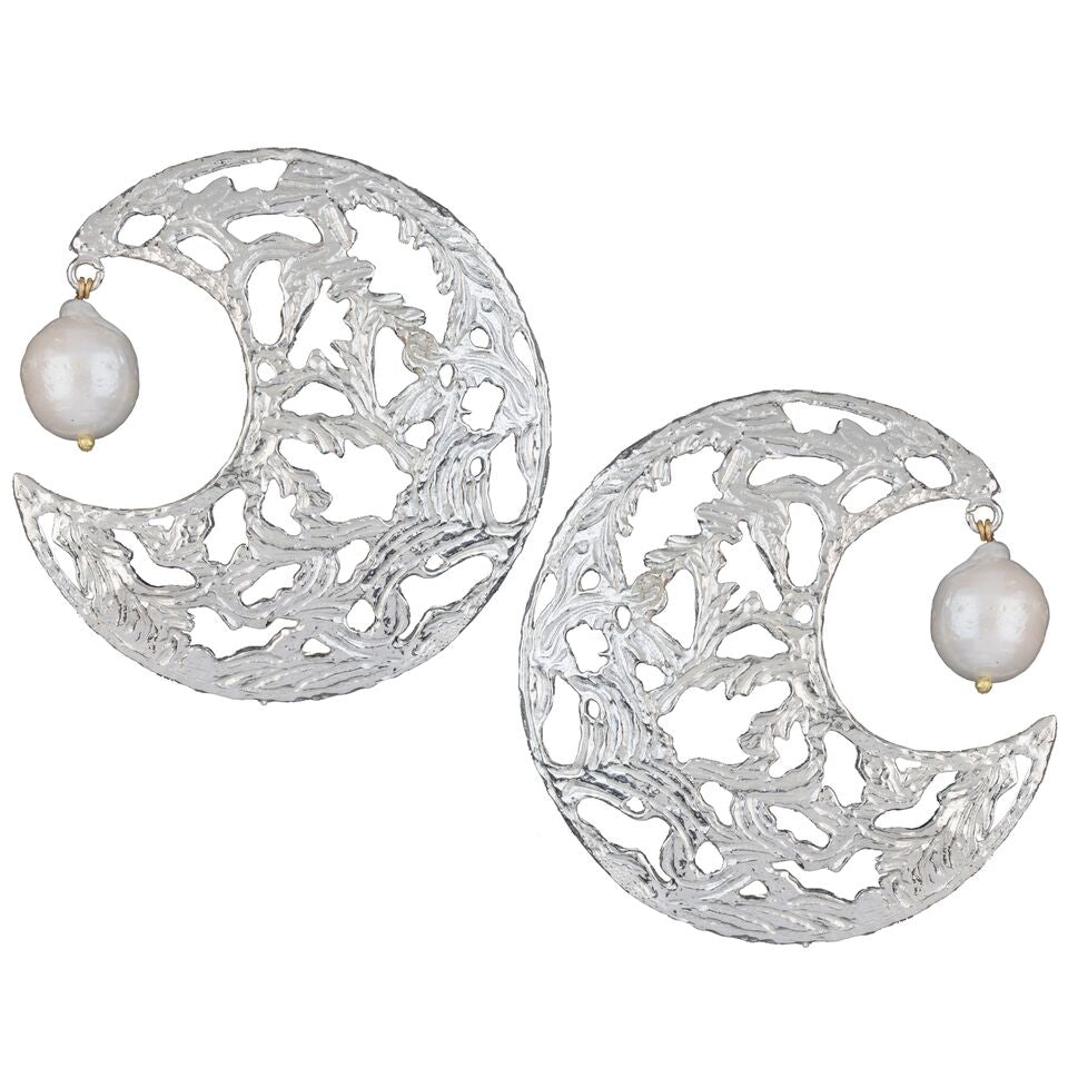 Angela Earrings Silver