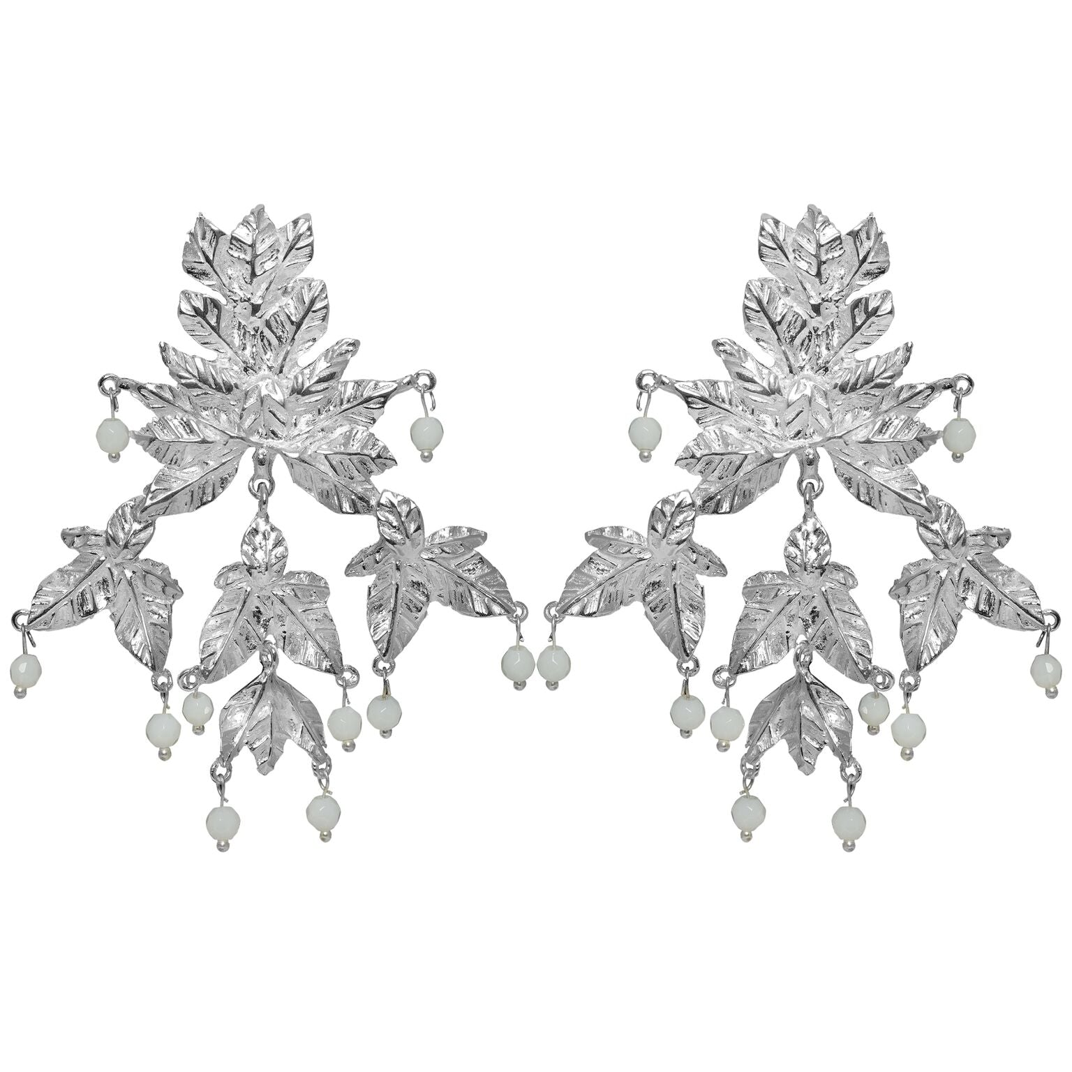 Mini Magdalena Earrings Silver