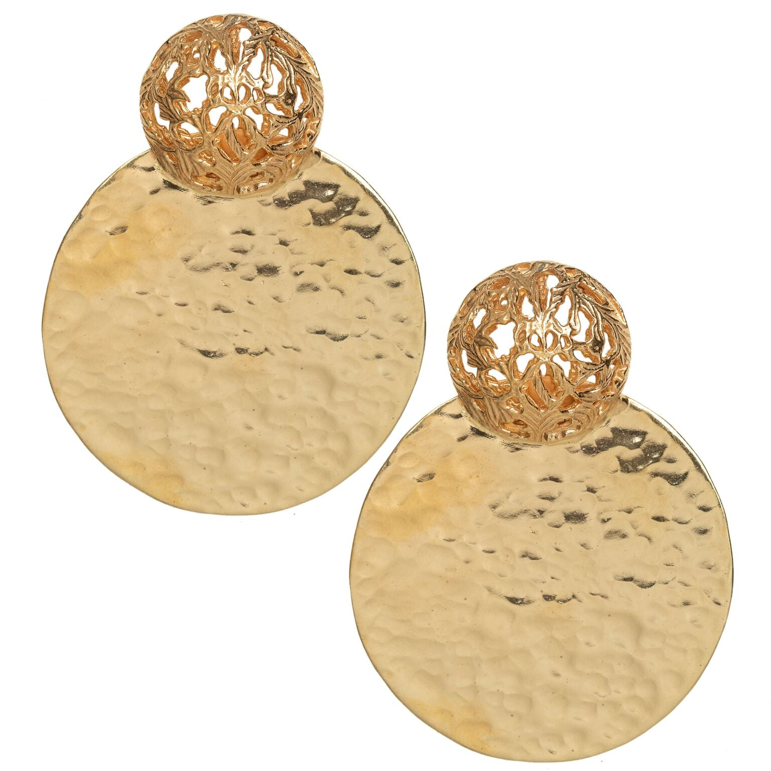 Del Sol Earrings Gold