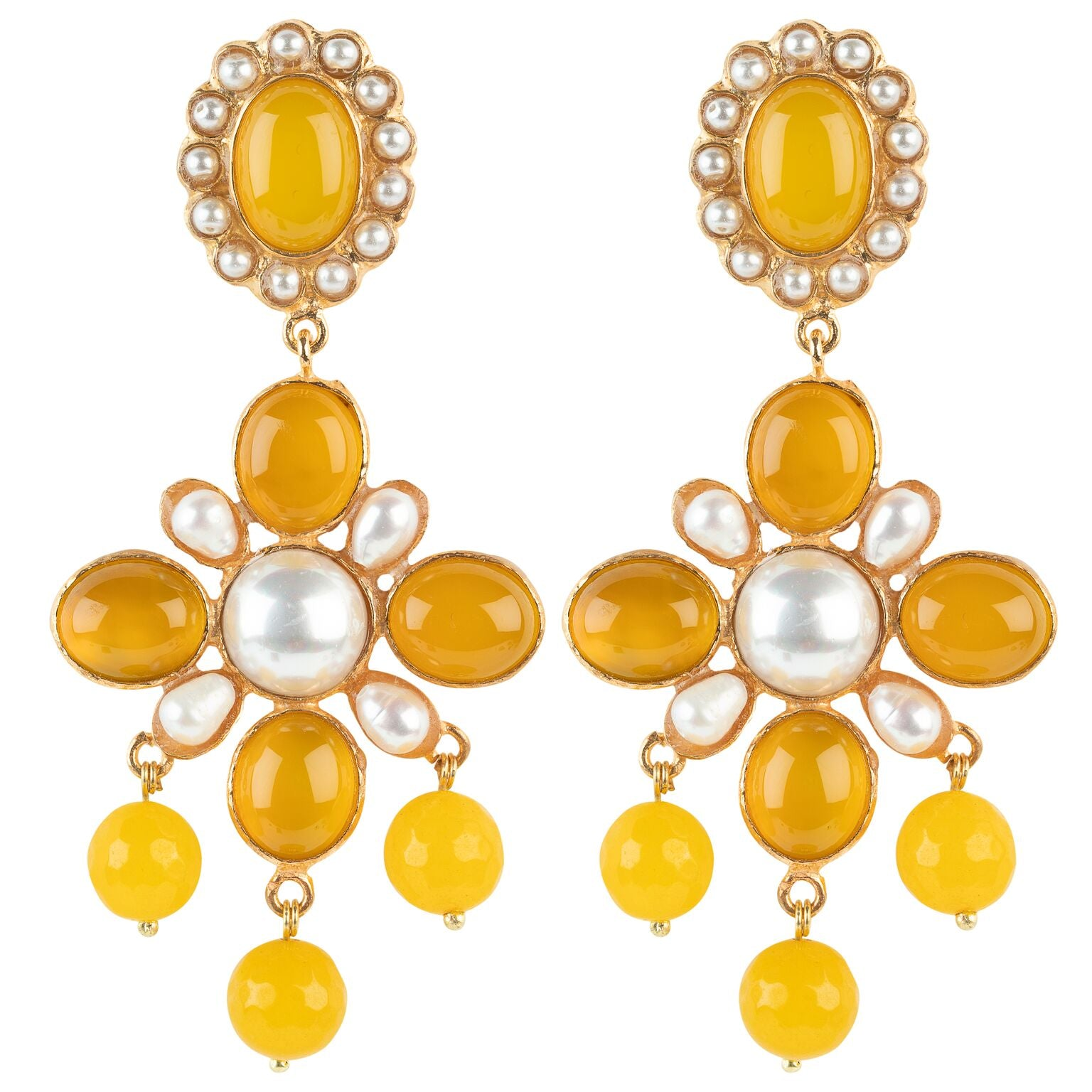 Florencia Earring Yellow