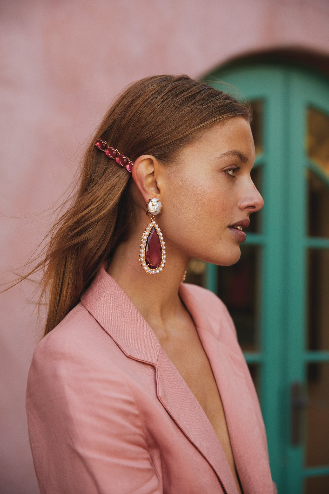 Grazia Earrings Pink