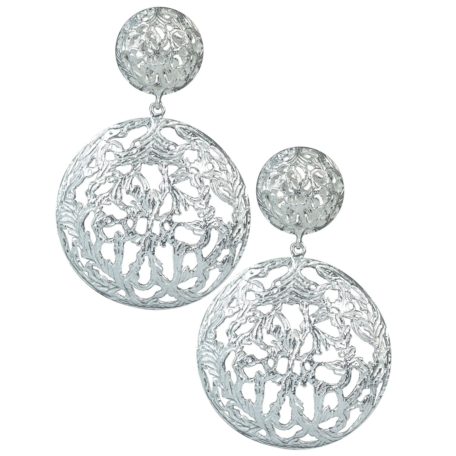 Luisa Earrings Silver