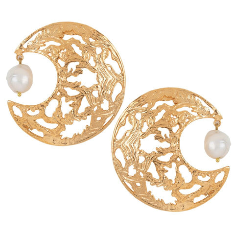 Angela Earrings Gold