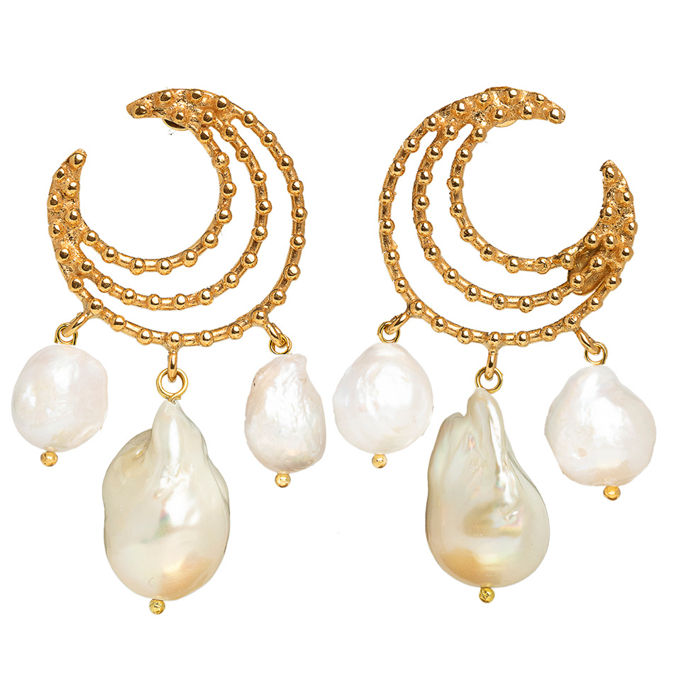 Vivia Earrings Pearl