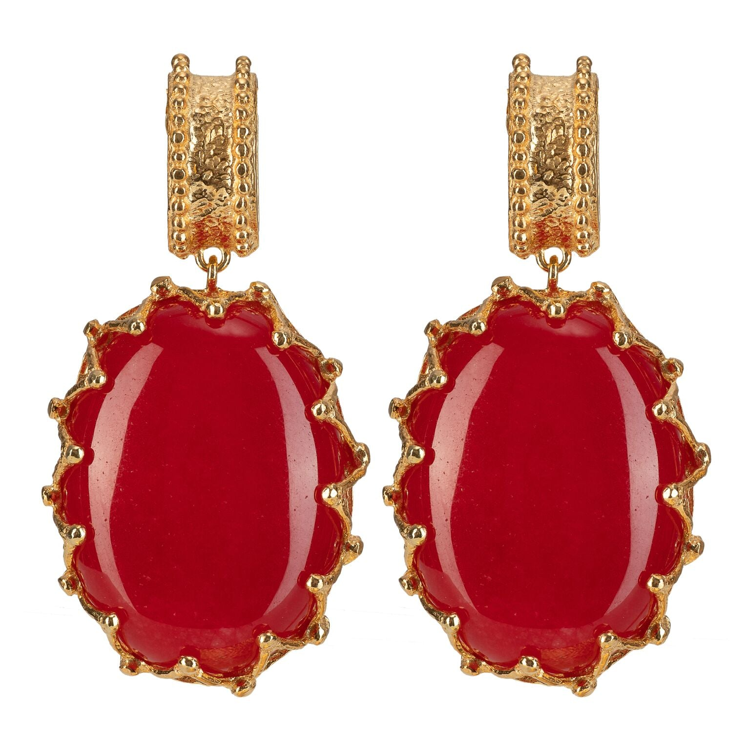 Lola Earrings Red