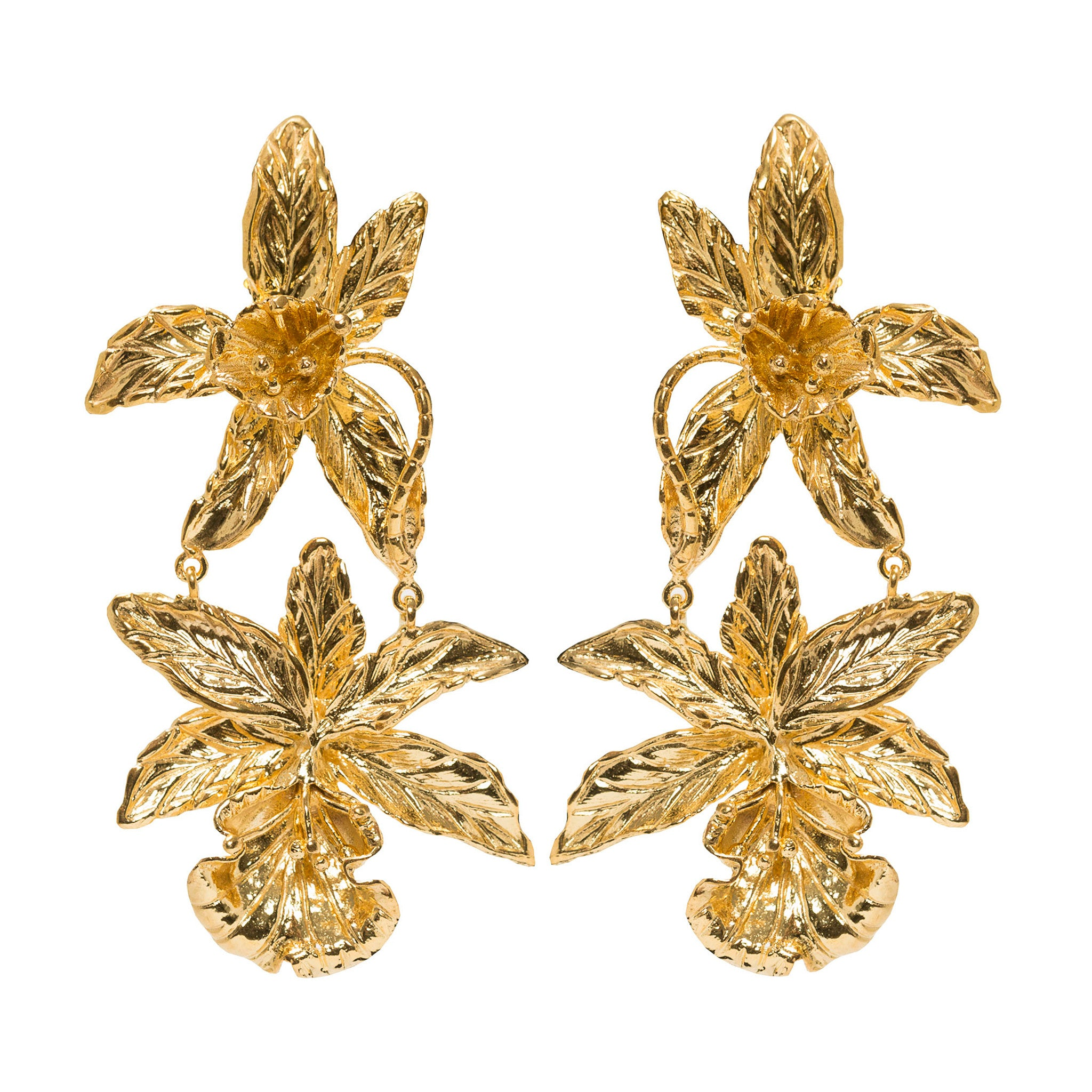 Abella Earrings Gold