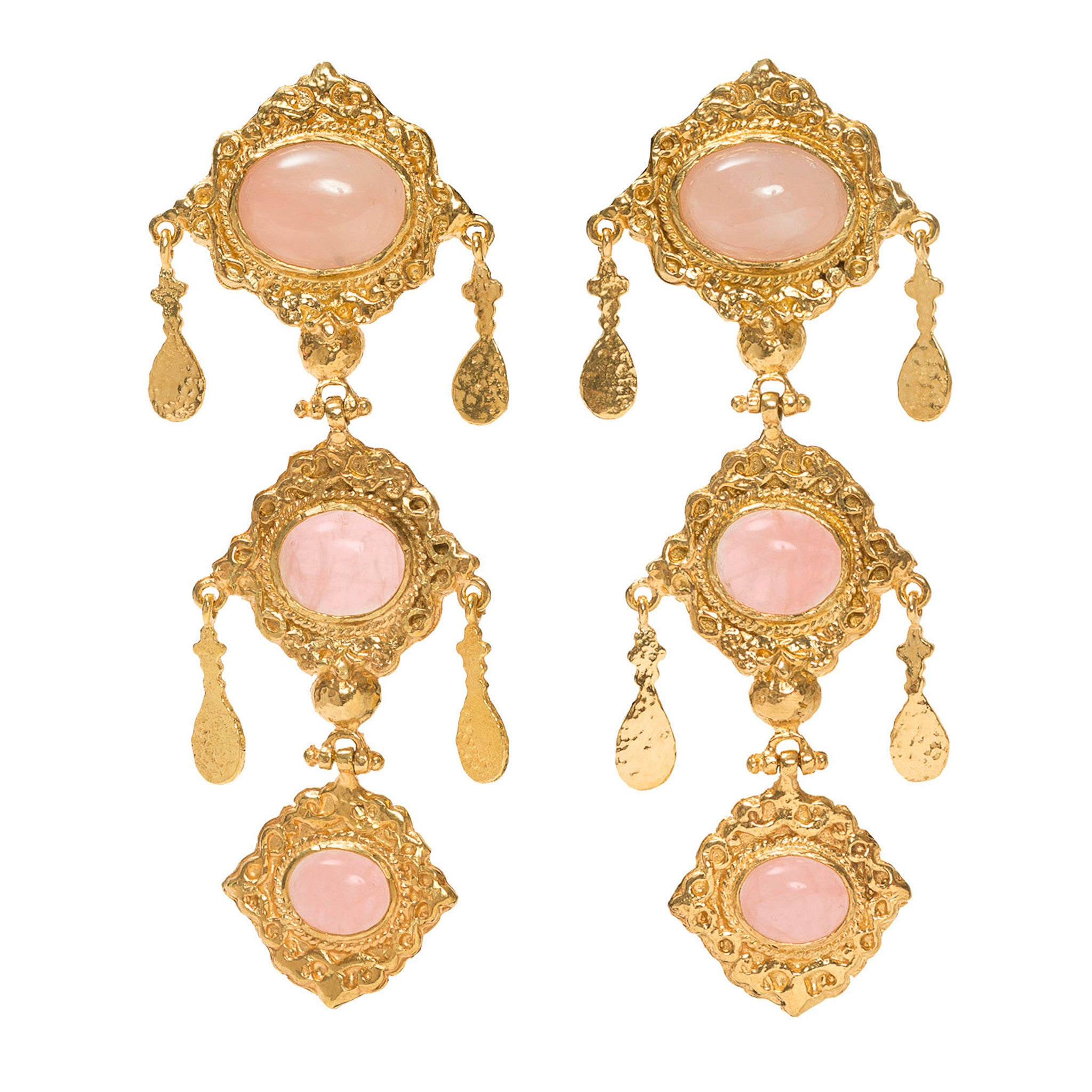 Anais Earrings Pink