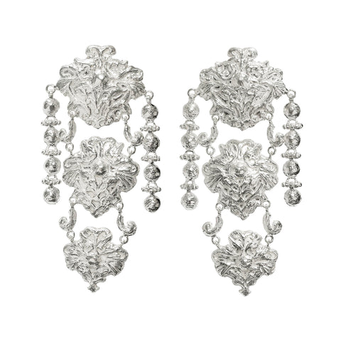Cecile Earrings Silver