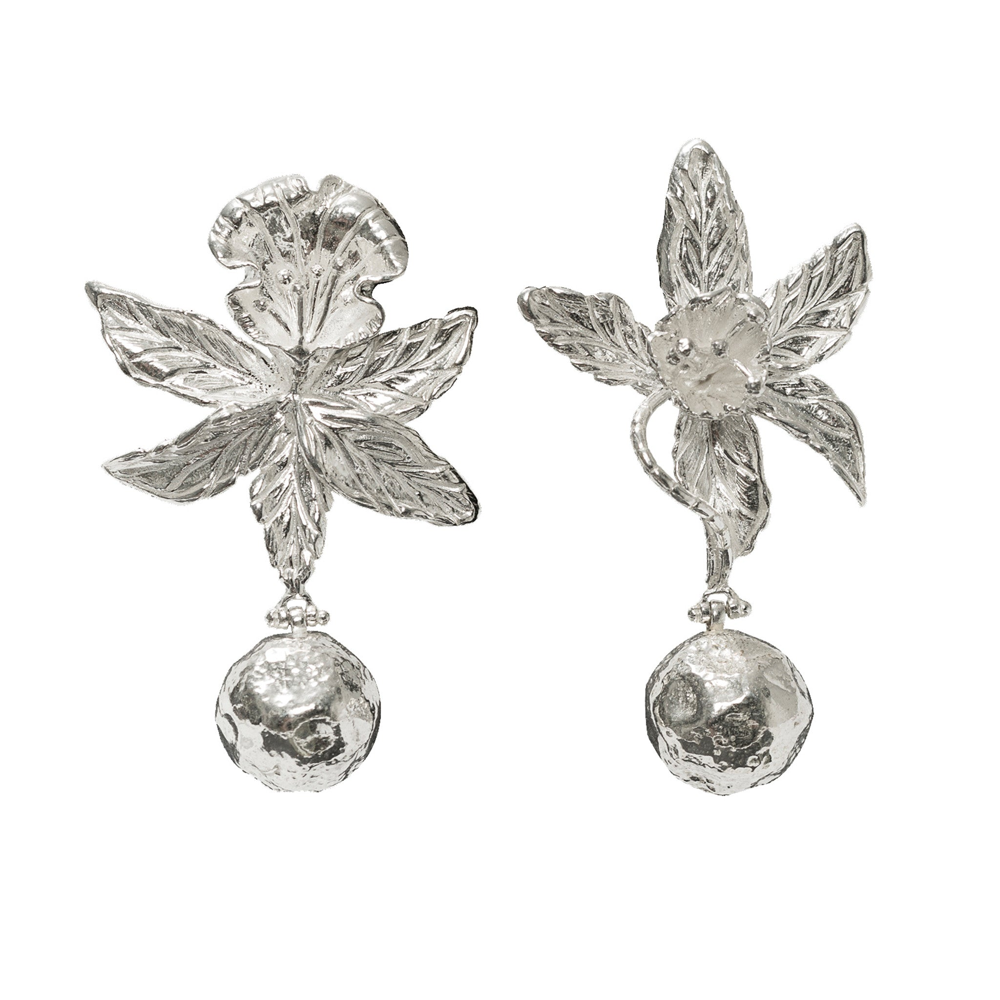 Adelina Earrings Silver