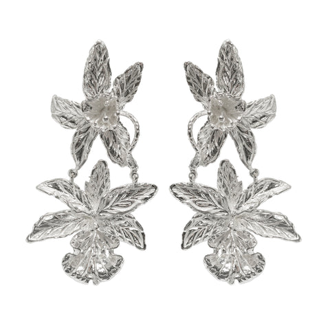 Abella Earrings Silver