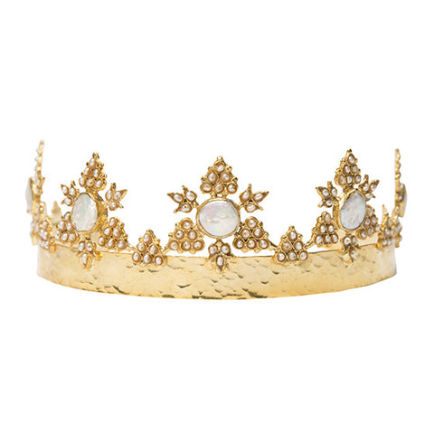 Anika Crown Gold