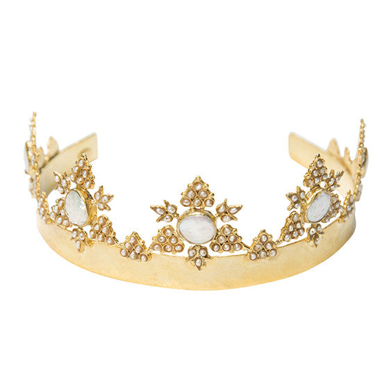 The Anika Crown Gold