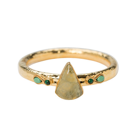 The Menta Bangle Gold