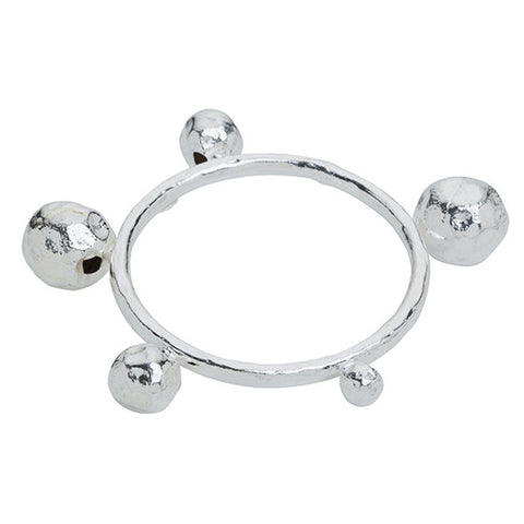 Hermes Arm Bangle Silver