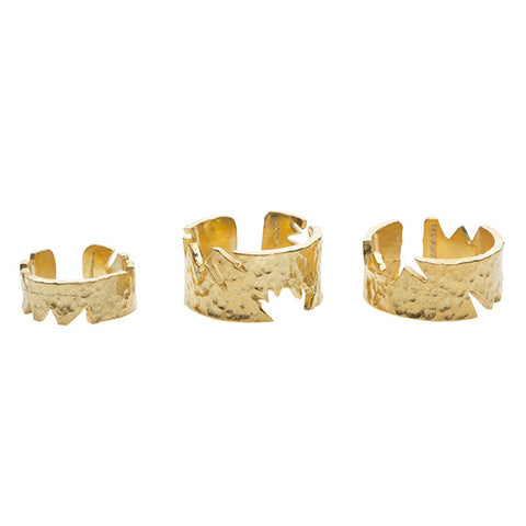 Apollo Ring Set Gold