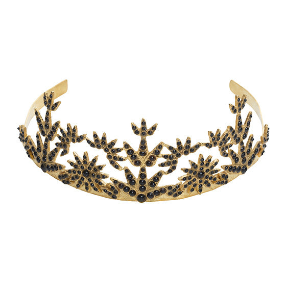 The Callisto Crown Gold & Black