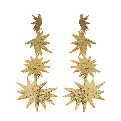Asteria Earrings Gold