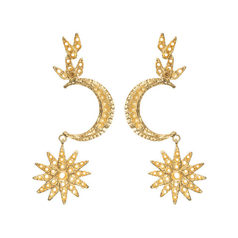 Atria Earrings Gold