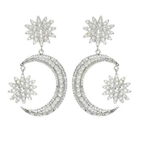 Adara Earrings Silver