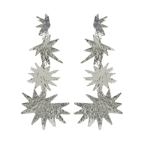 Asteria Earrings Silver