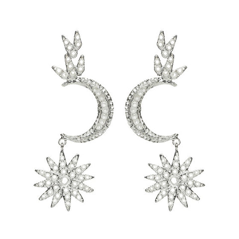 Atria Earrings Silver