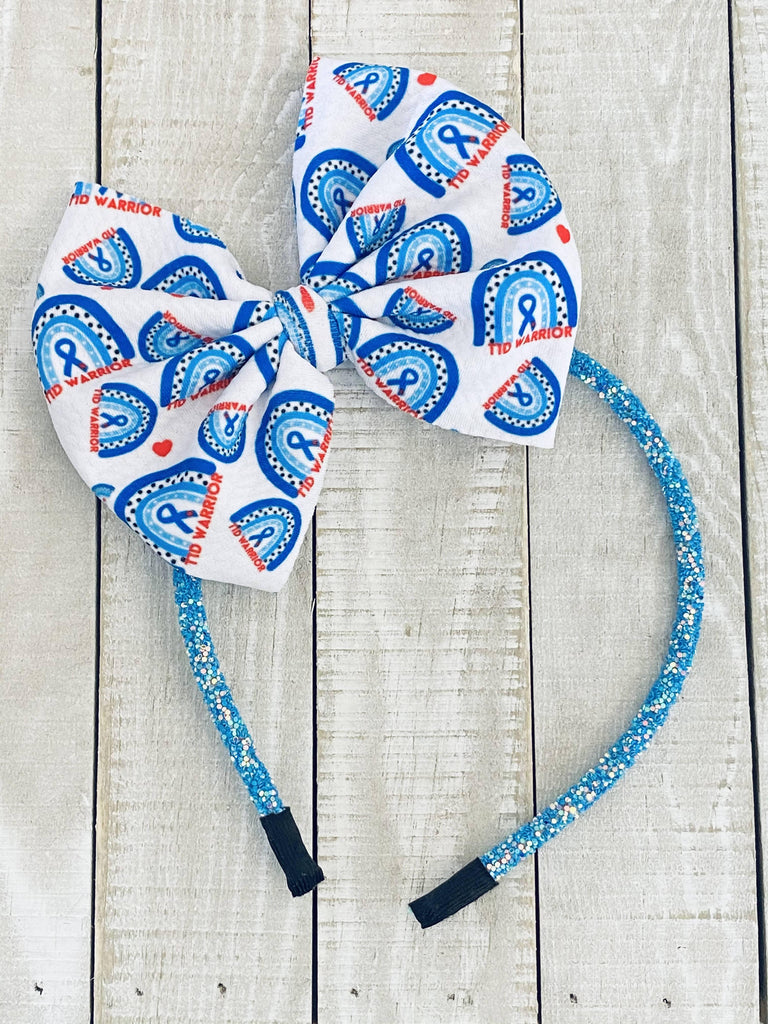 T1D Bow Headbands - The Useless Pancreas