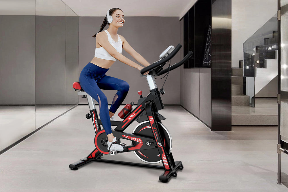 Keep the Upper Part of the Body Stable on the Spin Bike