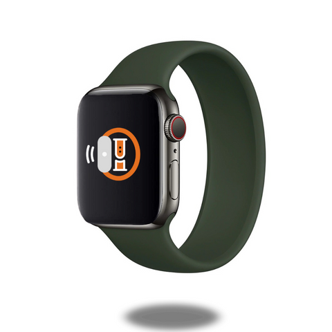 silicon solo loop apple watch bands