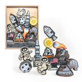 Lunar Lander Balance Game & Playset