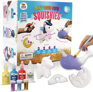 Paint Your Own Rainbows and Unicorn Squishies DIY Kit!
