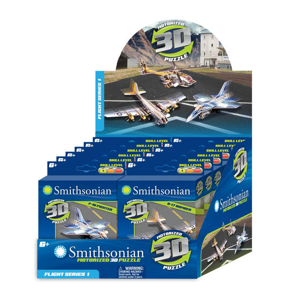 Smithsonian Wind-Up Puzzles - PDQ Flight