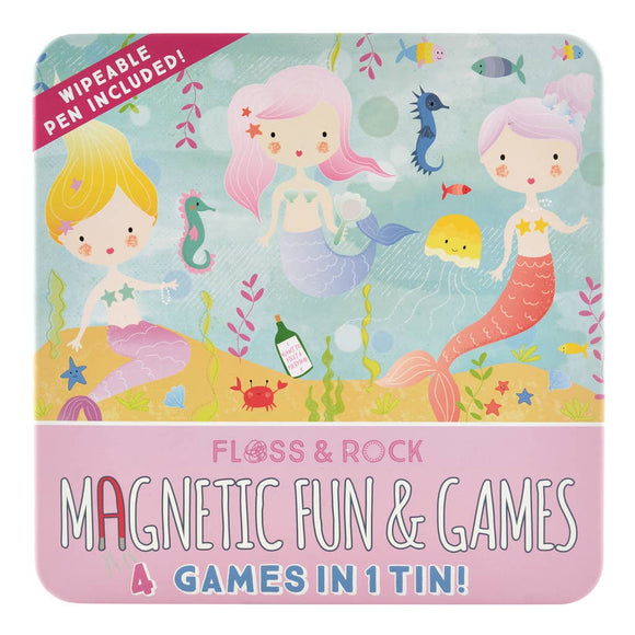Mermaid Magnetic Fun and Games Compendium