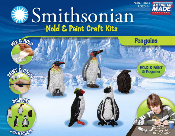 Smithsonian Mold and Paint Kit - Penguin