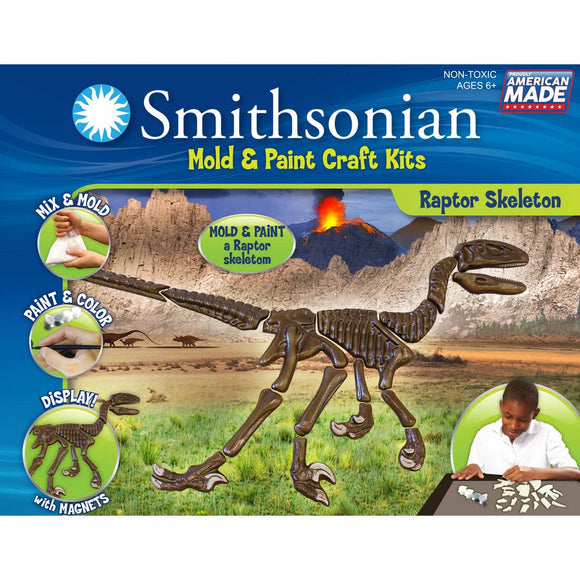 Smithsonian Mold and Paint Kit - Velociraptor